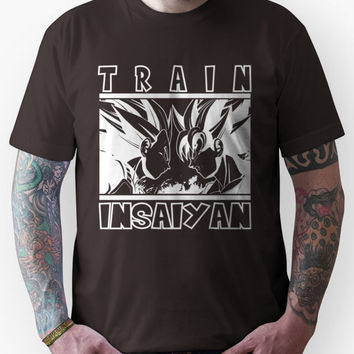 Train Insaiyan - dark Unisex T-Shirt