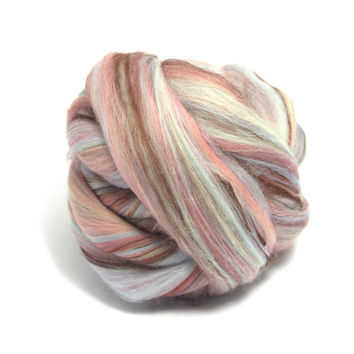 Chunky knit yarn 100 % merino wool 23 micron colorful bambino range blends for extreme knitting 1 kg