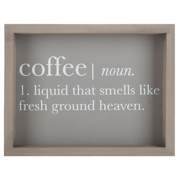 Coffee Definition Wood Wall Decor | Hobby Lobby | 1294834