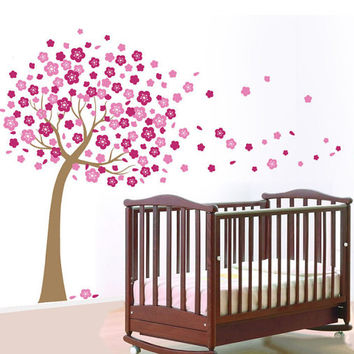 Wall Decals - Cherry Blossom Tree - Interior Design Style - LARGE Wall Decal - DIY