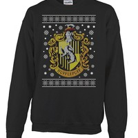 HUFFLEPUFF UGLY CHRISTMAS SWEATER