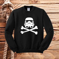 stormtrooper skull sweater unisex adults