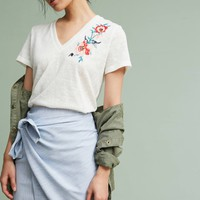 Caprenia Embroidered Tee