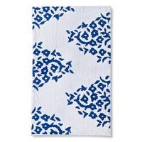 Threshold Rug Blue White Paisley : Target