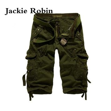 Camouflage Camo Cargo Shorts Mens Mens Casual Shorts Male Loose Work Shorts Man Short Pants