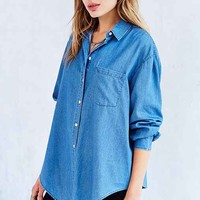 Cheap Monday Turn Denim Shirt- Blue