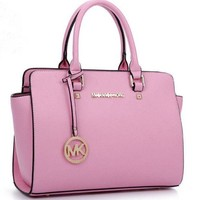 MK Women Shopping Leather Handbag Tote Satchel Shoulder Bag H