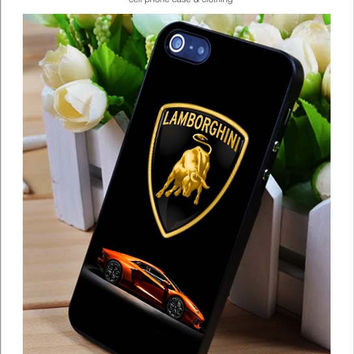 Lamborghini  iPhone for 4 5 5c 6 Plus Case, Samsung Galaxy for S3 S4 S5 Note 3 4 Case, iPod for 4 5 Case, HtC One for M7 M8 and Nexus Case