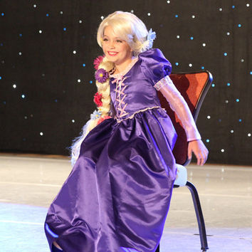 CHILD SIZE Rapunzel Tangled Inspired Costume Wig - A True Enchantment Original