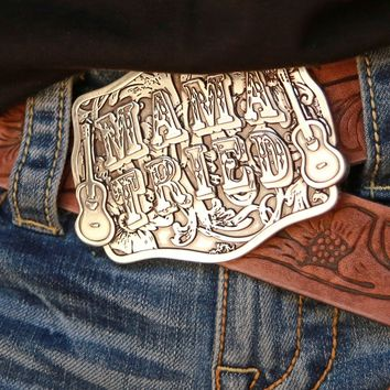 MAMA TRIED BUCKLE - CUSTOM JG - Junk GYpSy co.