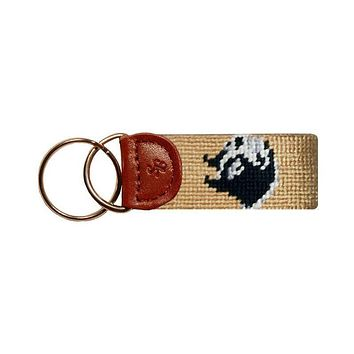 Wofford Key Fob in Gold by Smathers & Branson