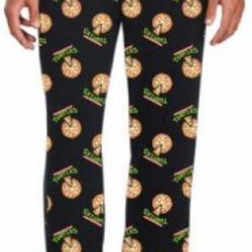 Teenage Mutant Ninja Turtles Lounge Pants - Pizza Logo