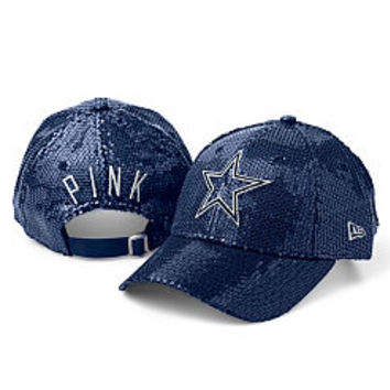 Dallas Cowboys Sequin Hat - PINK - Victoria's Secret