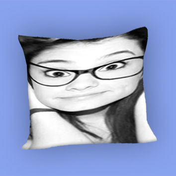 Ariana Grande Cute for Pillow Case, Pillow Cover, Custom Pillow Case **