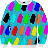 Popsicles Sweatshirt created by trilogy-anonymous | Print All Over Me