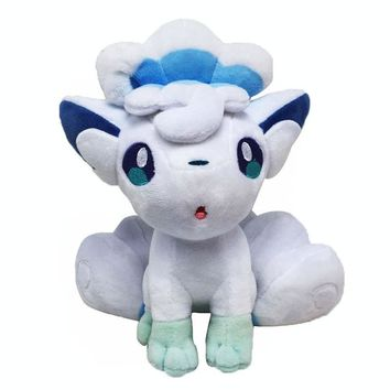 "9"" Alola Vulpix Pokemon Plush"