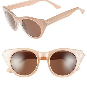 Women's Isaac Mizrahi New York 49mm Cat Eye Sunglasses