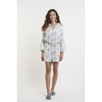 White Sleeves Relaxed Fit Shirt