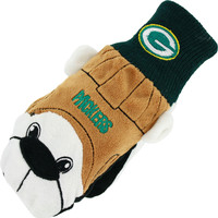Green Bay Packers Team Mascot Adult Mittens