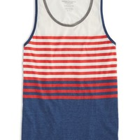 AEO Men's Printed Tank (Chalk)