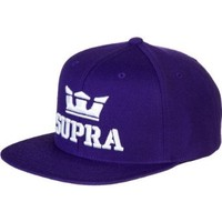 Supra Above Starter Snapback Hat Purple, One Size
