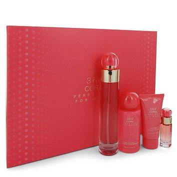 Perry Ellis 360 Coral Perfume By Perry Ellis Gift Set FOR WOMEN