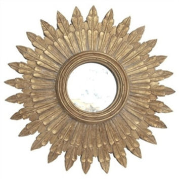 Santo Gold Leaf Starburst Mirror