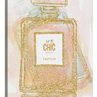 iCanvas 'Chic Bottle I' Giclée Print Canvas Art | Nordstrom