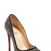 "Women's Christian Louboutin 'So Pretty' Pointy Toe Pump, 4 3/4"" heel"
