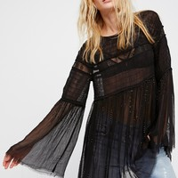 Free People Late Night Serenade Top