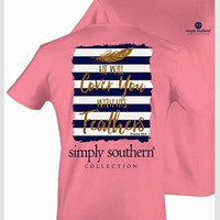 Feathers Simply Southern Tee