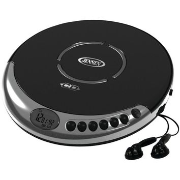 Jensen Personal Cd Player With Bass Boost JENCD60C