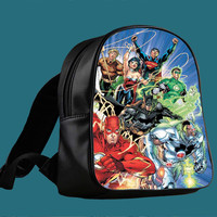 comic all superhero for Backpack / Custom Bag / School Bag / Children Bag / Custom School Bag ***
