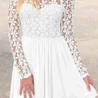 Pillar-  Sweet Lace Dress
