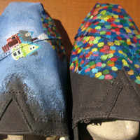 Customized Up TOMS Shoes