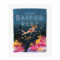 Barrier Reef Art Print by RIFLE PAPER Co. | Made in USA