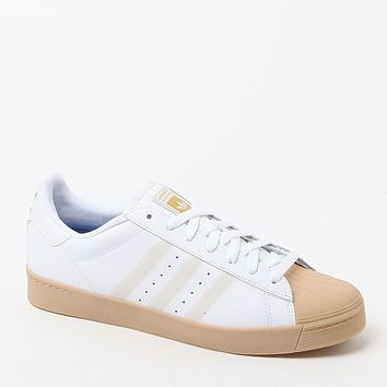 adidas Superstar Vulc ADV White Shoes - Mens Shoes - White