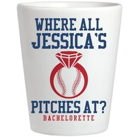 Fun Baseball Bachelorette Shots: This Mom Means Business!