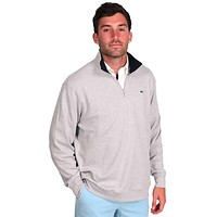 Limited Edition Jersey 1/4 Zip in Grey by Vineyard Vines