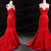 Red stain prom dresses,long prom dresses,stain prom dress,short prom dresses,red prom dress,cheap red party dress,red bridesmaid dress