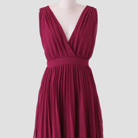 Dance With Me Pleated Dress