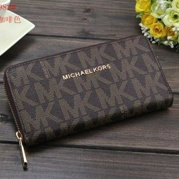 MICHAEL KOR WOMENS WALLET CLUTCH MK HANDBAG BAGS PURSE