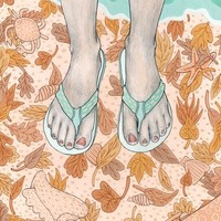 """""""Dominican Autumn"""" - Art Print by Gaby D'Alessandro"""