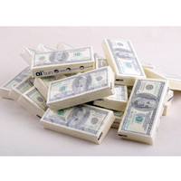 2016 Hot New 100 Dollar Toilet Tissue Paper Napkin Soft Printing Natural Comfort Funny Personality Popular Fashion