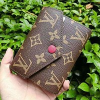 ONETOW LV Louis Vuitton Women Shopping Leather Handbag Tote Wallet Purse