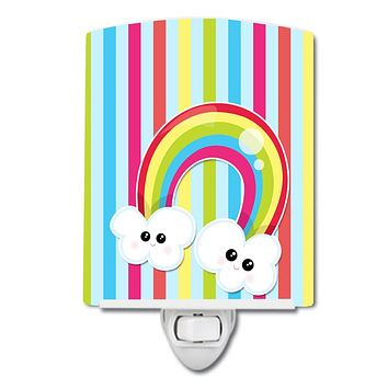 Weather Rainbow Face Ceramic Night Light BB7151CNL