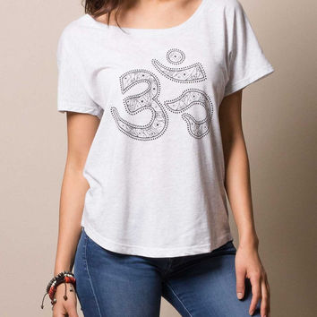 Dolman Heavenly Om Tee