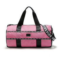 Victoria's Secret PINK Round body-building bag, sports bag, travelling bag, travelling bag