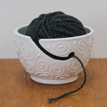 Yarn Bowl, 'The Wooly', made by Bunny Safari