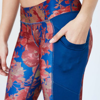 Without Walls Low-Rise Etta Floral Cropped Legging - Urban Outfitters